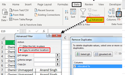 How to Remove Duplicates Value